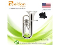 Antigua Eldon EP0120NK Bb Euphonium Silver Plated Student Model
