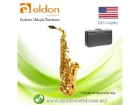 Antigua Eldon AS22LQ Eb Alto Saxophone Student Model Beginner Sax