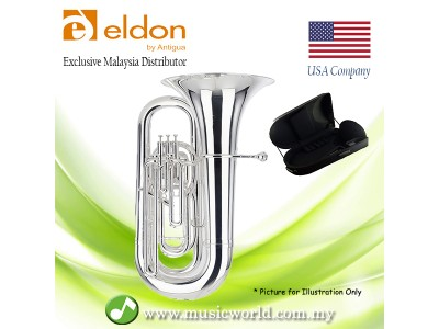 Antigua Eldon BB0120NK Tuba BBb Silver Plated Student Model