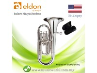 Antigua Eldon BH0120NK Baritone Horn Silver Plated Student Model