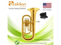 Antigua Eldon EP0120LQ Bb Euphonium Lacquer Finish Student Model