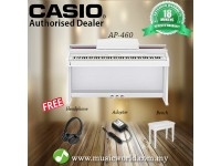 CASIO AP460 CELVIANO DIGITAL PIANO - White (AP 460 / AP-460)