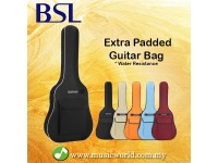 BSL Extra Padded Guitar Bag Water Resistance Guitar Bagpack Guitar Case