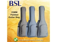 BSL 25mm Extra Padded Guitar Bag Premium Acoustic Guitar Bag Classical Bag