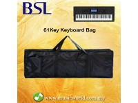 BSL 61 Key Piano Bag Keyboard Bagpack 5mm Padded Bag Piano Case Music Keyboard Bag