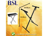 BSL Foldable Keyboard Stand Portable Light Weight Heavy Duty Keyboard Stand