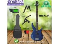 YAMAHA TRBX174 4 String Electric Bass Basses Bundle Student Beginner Series