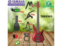 YAMAHA TRBX305 5 String Bass Guitar Basses Bundle Intermediate Series