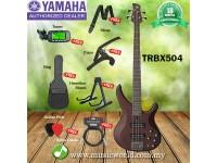 YAMAHA TRBX504 4 String Bass Guitar Basses Bundle Professional Series