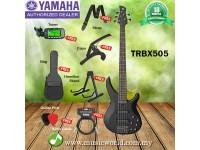 YAMAHA TRBX505 5 String Bass Basses Bundle Professional Series (TRBX 505)