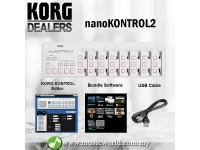 Korg nanoKONTROL2 USB Slim Line MIDI Controller Nano Kontrol 2 (WHITE)