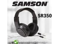 Samson SR350 Over Ear Closed Headphones for Musical Instrument