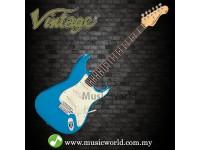 VINTAGE V6 REISSUED ELECTRIC GUITAR CANDY APPLE BLUE