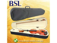 BSL Violin Case 4/4 Full Size Triangular Super Light Suspension Violin Hard Case