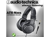 Audio Technica ATH-M20x - Professional Monitor Headphones (ATH M20X)