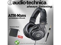 Audio Technica ATH-M30x -Professional Monitor Headphones (ATH M30X)