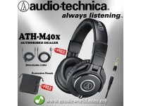 Audio Technica ATH-M40x - Professional Monitor Headphones (ATH M40X)