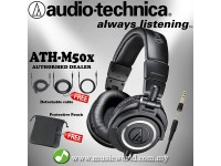 Audio Technica ATH-M50x - Professional Monitor Headphones (ATH M50X)