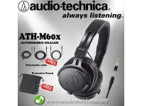 Audio Technica ATH-M60x - Professional Monitor Headphones (ATH M60X)