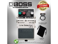 BOSS LS-2 Line Selector Pedal Effect Pedal Electric Guitar Pedal (LS2 LS 2)