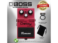 BOSS DM-2W Delay Effect Waza Craft Guitar Pedal Effect Pedal (DM2W DM2)