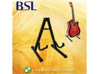 BSL A Frame Guitar Stand Acoustic Electric Bass Ukulele Folding Guitar Stand