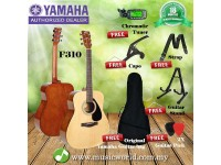 Yamaha F310 41 Inch Acoustic Guitar Complete Package With A Frame Stand (F 310)