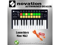 Novation Launchkey Mini Mk2 USB MIDI Controller Launch Key Mini