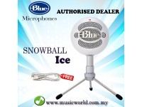 Blue Microphones Snowball Ice Plug and Play USB Microphone (White)