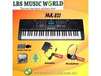 BSL MK-821 Portable Keyboard Organ Electronic Piano Self Learn Function