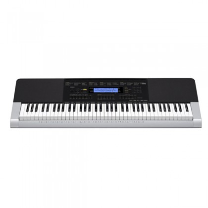 Casio WK-240 76 Key Portable Keyboard Music Electronic Piano Intermediate Package (WK240 WK 240)