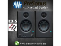 PreSonus Eris E3.5 Professional Powered Multimedia Pair Studio Monitors (E 3.5)