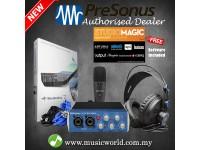 Presonus AudioBox 96 Studio Package Complete Hardware Software Recording Kit