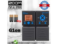 Zoom G1on Guitar Effect Multi Effects Pedal Distortion Compression Modulation Delay Reverb