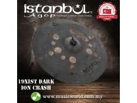 """Istanbul Agop 19"""" Inch Xist Dark ION Crash Cymbal"""