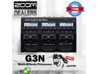 Zoom G3n Effect Multi Effects Processor With Adapter