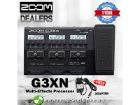 Zoom G3Xn Effect Multi Effects Processor with Expression Pedal and Adapter