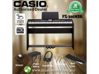 Casio Privia PX-360 88 Key Privia Digital Piano (PX360 PX360M MBK)