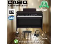 Casio Celviano AP-650 88 Key Digital Piano Black (AP650 AP 650)