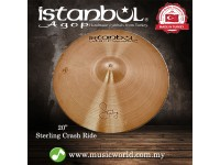 "Istanbul Agop cymbal 20 Inch Sterling Crash Ride 20""Cymbal"