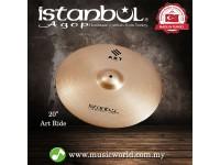 "Istanbul Agop cymbal 20 Inch ART Ride 20"" Cymbal"