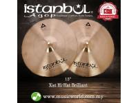"""Istanbul Agop Cymbal 15 Inch Xist Hi-Hat Brilliant 15"""" Cymbal"""