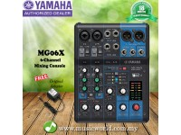 Yamaha MG06X 6 Channel Mixing Console Mixer with Effects