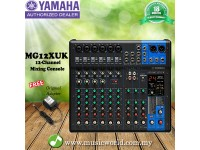 Yamaha MG12XU 12 Channel Analog Mixer 4 Bus Mixer with Effects (6 mono + 3 stereo)