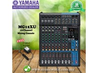 Yamaha MG12XU 12 channel Analog 4-Bus Mixer with Effects and USB