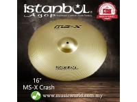 "Istanbul Agop Cymbal 16 Inch MS-X Crash 16"" Cymbal"
