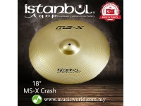 "Istanbul Agop Cymbal 18 Inch MS-X Crash Ride 18"" Cymbal"