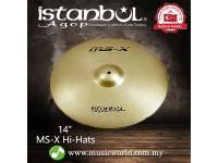 "istanbul Agop cymbal 14 Inch MS-X Hi-Hats 14"" Cymbal"