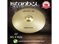 "istanbul Agop Cymbal 20"" MS-X Ride Cymbal"