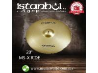 "istanbul Agop Cymbal 20 Inch MS-X Ride 20"" Cymbal"